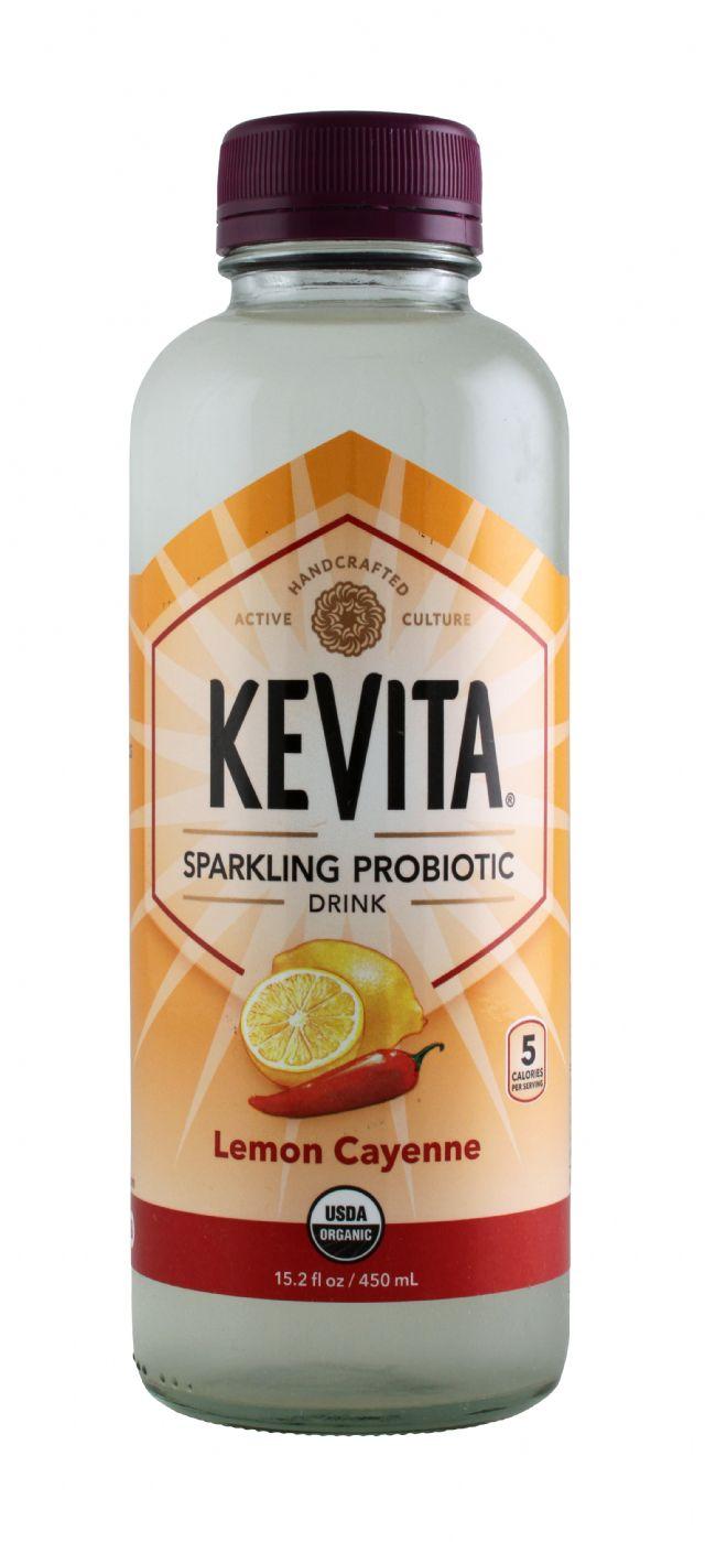 KeVita: Kevita LemonCayenne Front