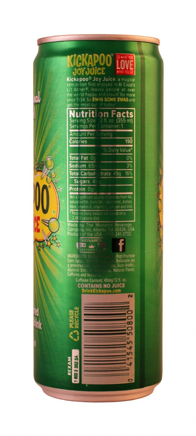 Kickapoo Joy Juice: Kickapoo Original Facts