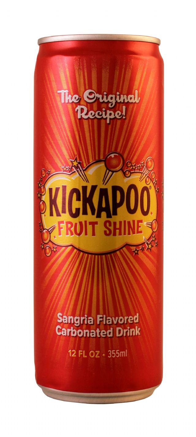 Kickapoo Joy Juice: Kickapoo FruitShine Front