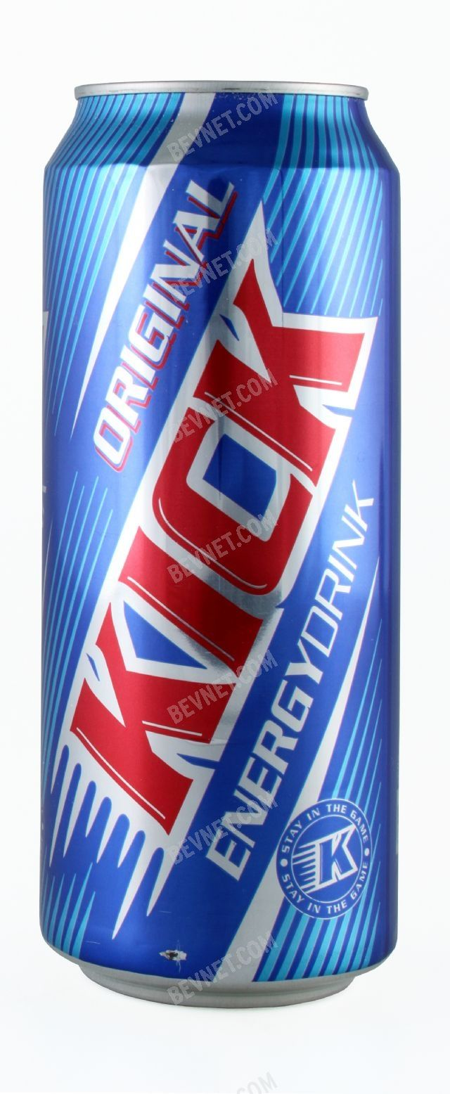 KICK Energy Drink:
