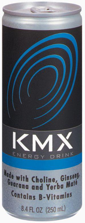 KMX Energy Drink: KMX Energy Drink- KMX Blue