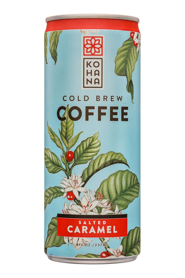 Kohana Coffee: Kohana-8oz-ColdBrewCoffee-SaltedCaramel-Front