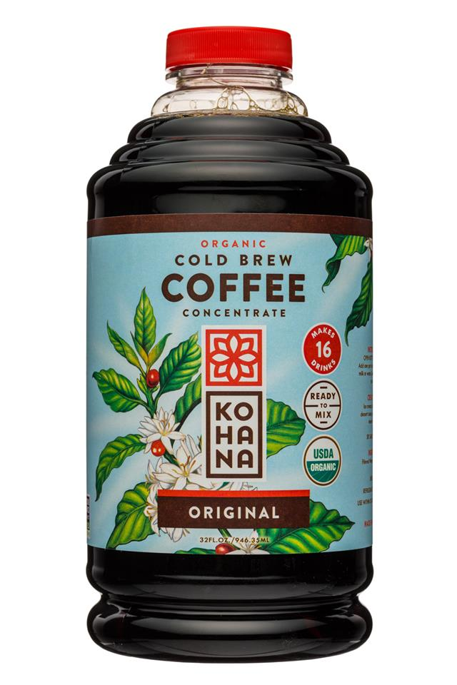Kohana Coffee: Kohana-32oz-ColdBrewCoffee-OG-Concentrate-Original-Front