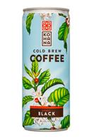 Kohana Coffee: Kohana-8oz-ColdBrewCoffee-SweetBlack-Front