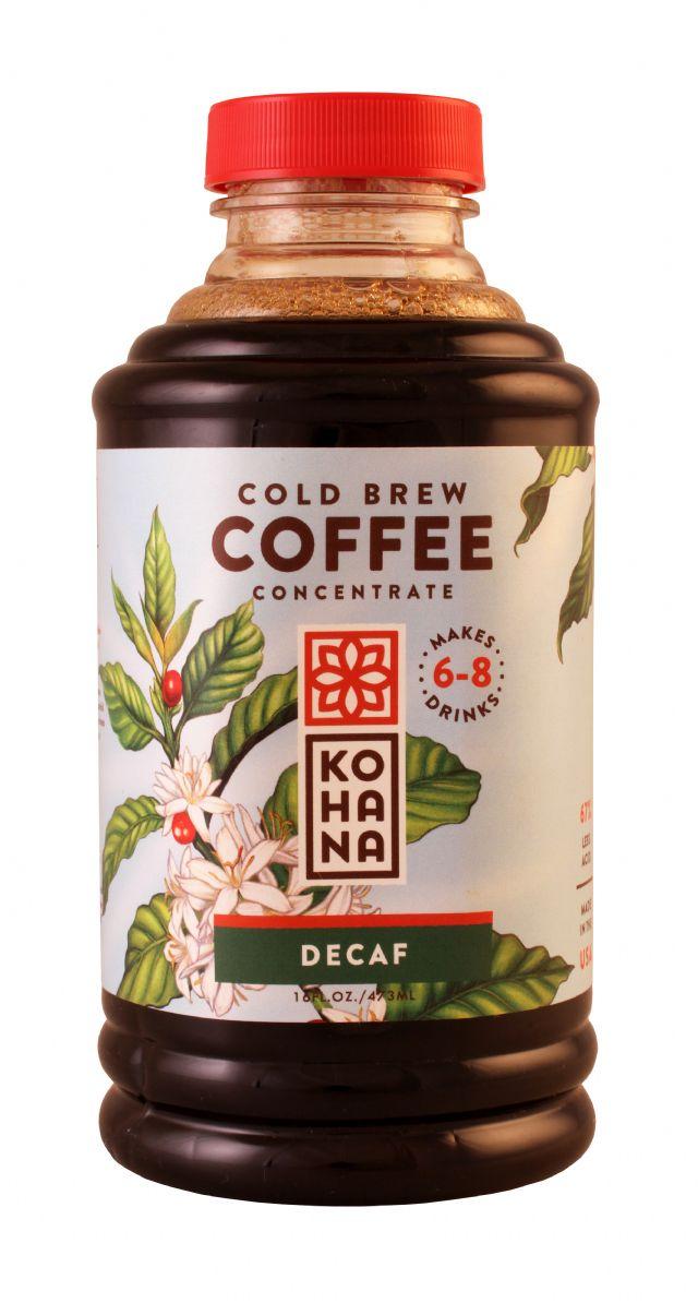 Kohana Cold Brew: Kohana Decaf Front