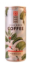 Kohana Cold Brew: KOHANA Vanilla Front