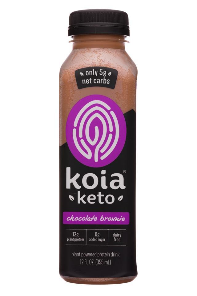 Koia: Koia-12oz-Keto-ChocBrownie-Front