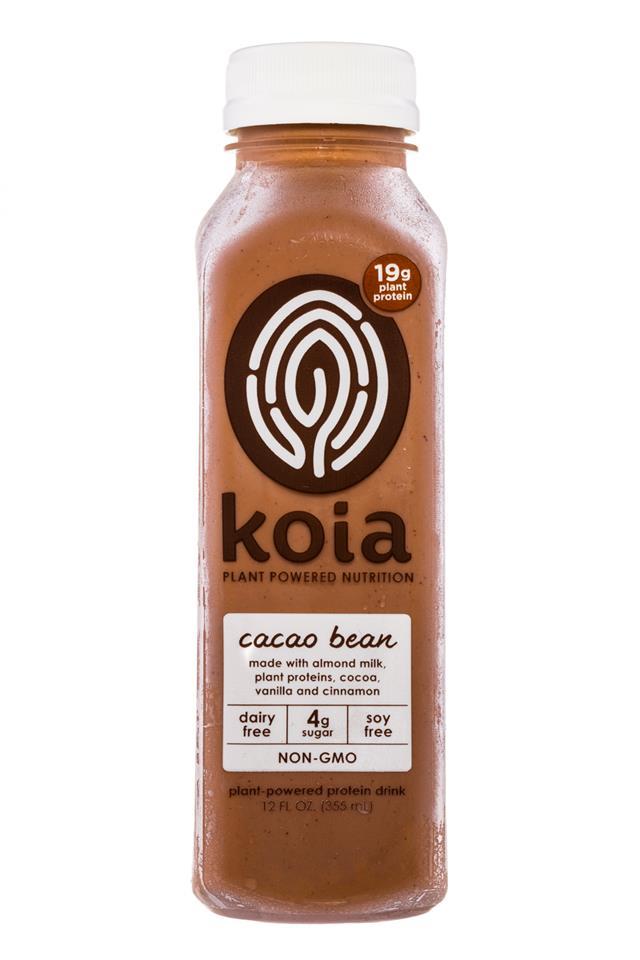 Koia: Koia-PlantPowered-CacaoBean-Front