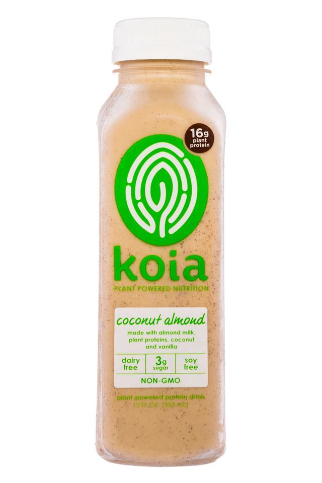 Koia: Koia-PlantPowered-CoconutAlmond-Front