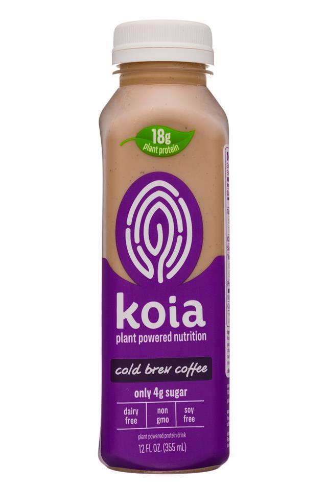 Koia: Koia-12oz-Nutrition-ColdBrew-Front