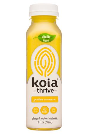 Koia: Koia-10oz-2020-Thrive-GoldTurmeric-Front