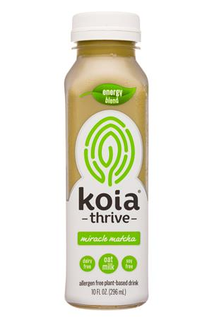 Koia: Koia-10oz-2020-Thrive-MiralceMatcha-Front