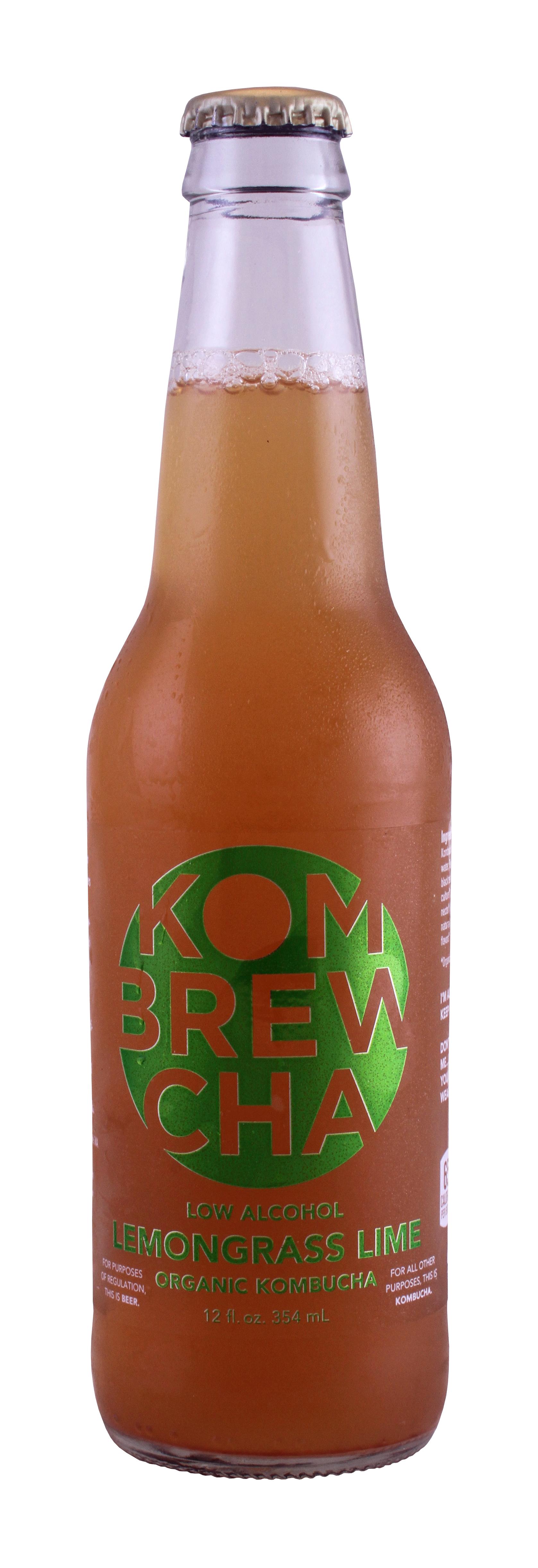 KomBrewCha: KomBrewCha Lemongrass Front