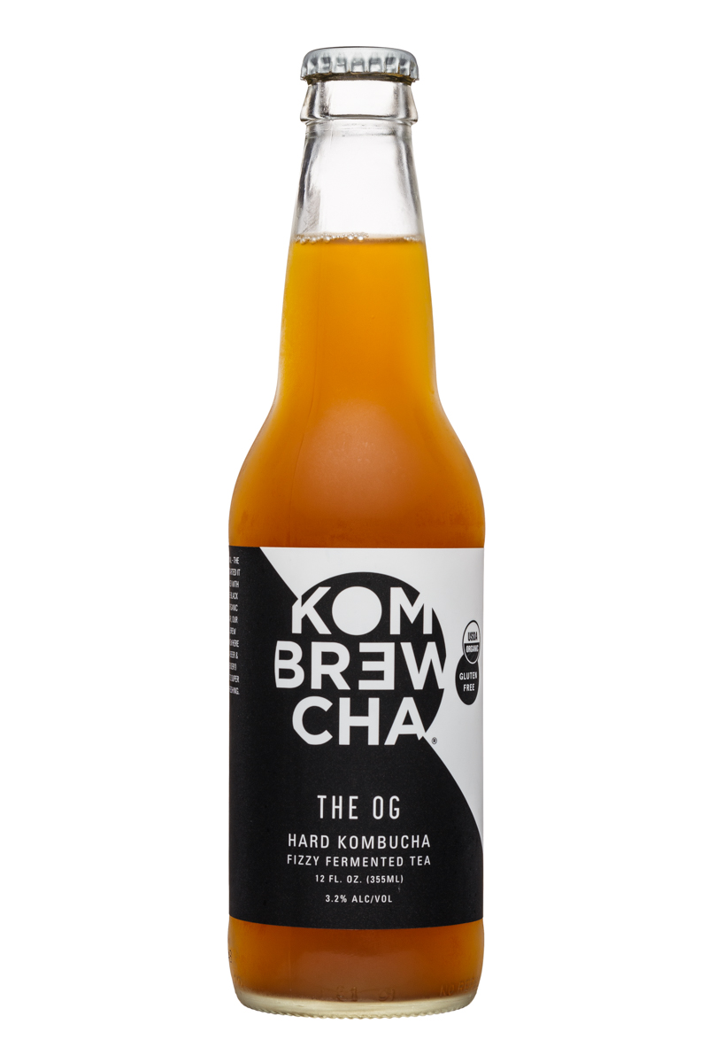 KomBrewCha: Kombrewcha-12oz-HardBuch-TheOG-Front