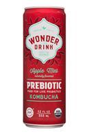 PureSteeps-12oz-WonderDrink-Prebiotic-AppleMint-Front