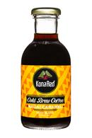 KonaRed Cold Brew Coffee: KonaRed-ColdBrew-12oz-KauaiCaramel-Front