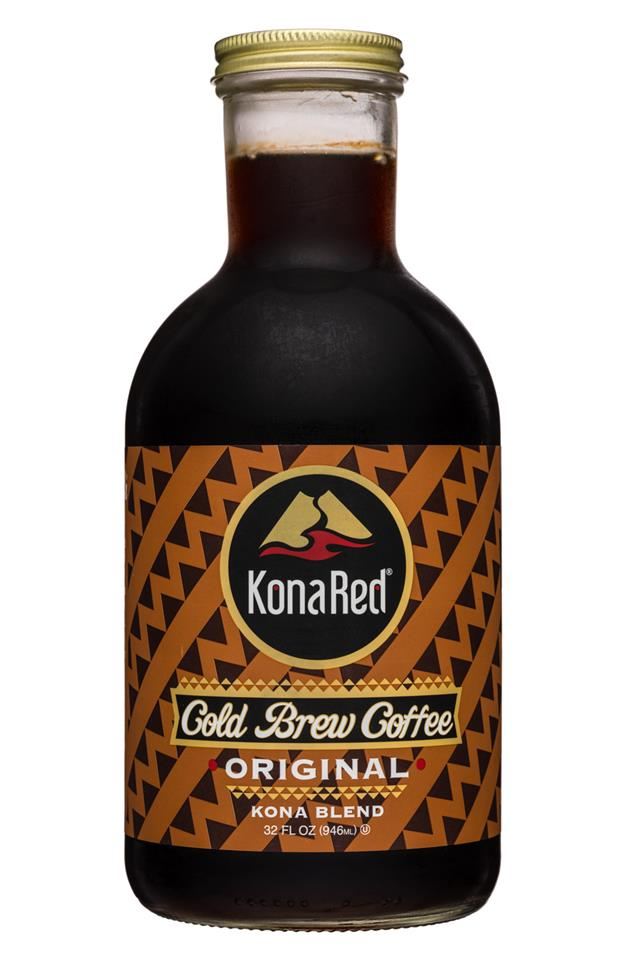 Kona Red: KonaRed-32oz-ColdBrew-Original-Front