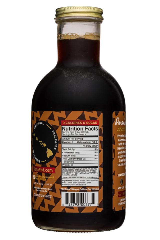 Kona Red: KonaRed-32oz-ColdBrew-Original-Facts