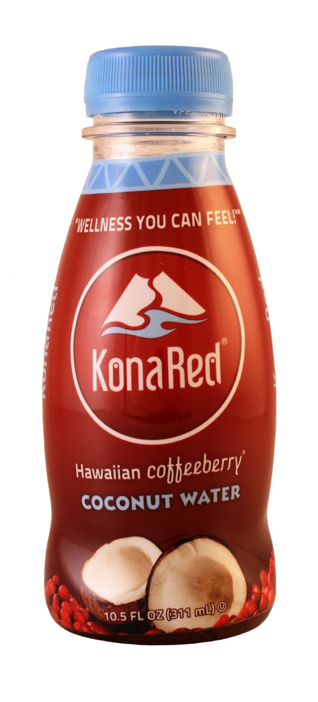 Kona Red: KonaRed CoconutWater Front