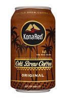 Kona Red: KonaRed-12oz-ColdBrewCoffee-Original-Front
