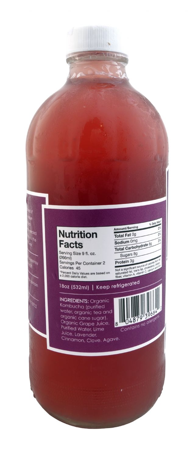 Kosmic Kombucha: Kosmic PurpleHaze Facts