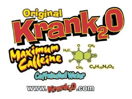 Krank2O Caffeinated Water