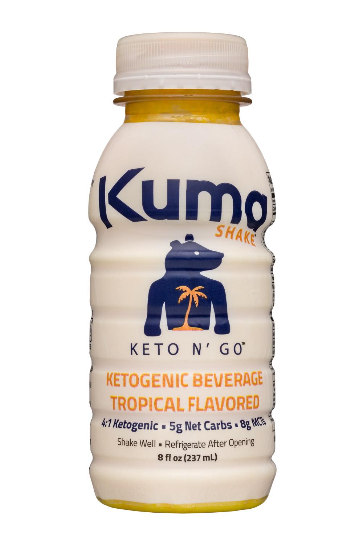 Kuma Shake: KumaShake-8oz-KetoNGo-Tropical-1