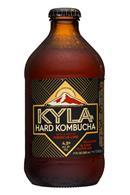 Kyla Kombucha: Kyla-11oz-HardKombucha-HibiscusLime-Front