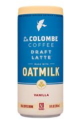 Vanilla - Draft Latte made with Oatmilk