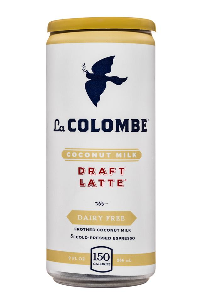 La Colombe Coffee: LaColombe-9oz-DraftLatte-CoconutMilk-Front