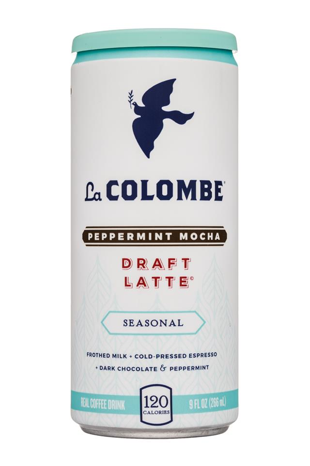 La Colombe Draft Latte: LaColombe-9oz-DraftLatte-Seasonal-PeppermintMocha-Front