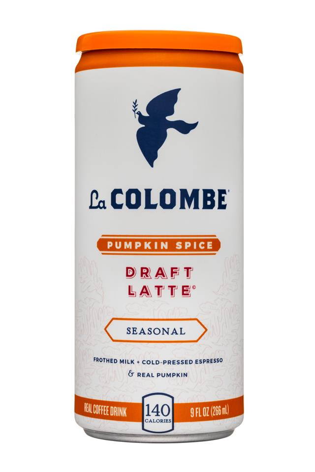 La Colombe Draft Latte: LaColombe-9oz-DraftLatte-PumpkinSpice-Front