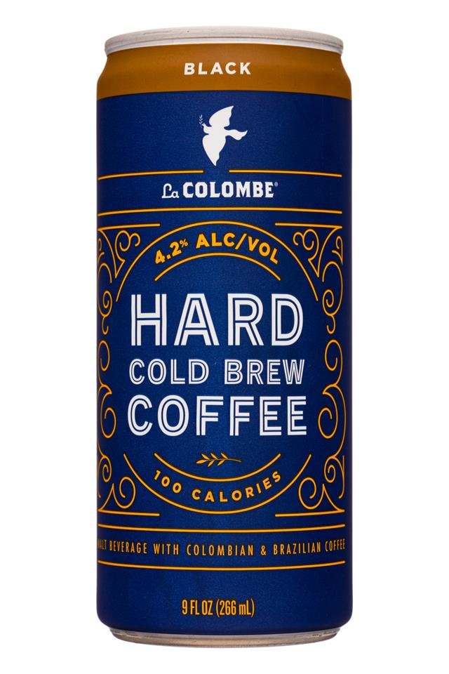 La Colombe Hard Cold Brew Coffee: LaColombe-9oz-HardColdBrew-Black