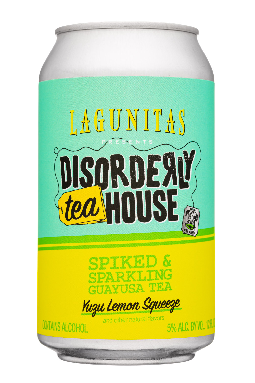 Spiked Sparkling Guayusa Tea (Yuza Lemon Squeeze)