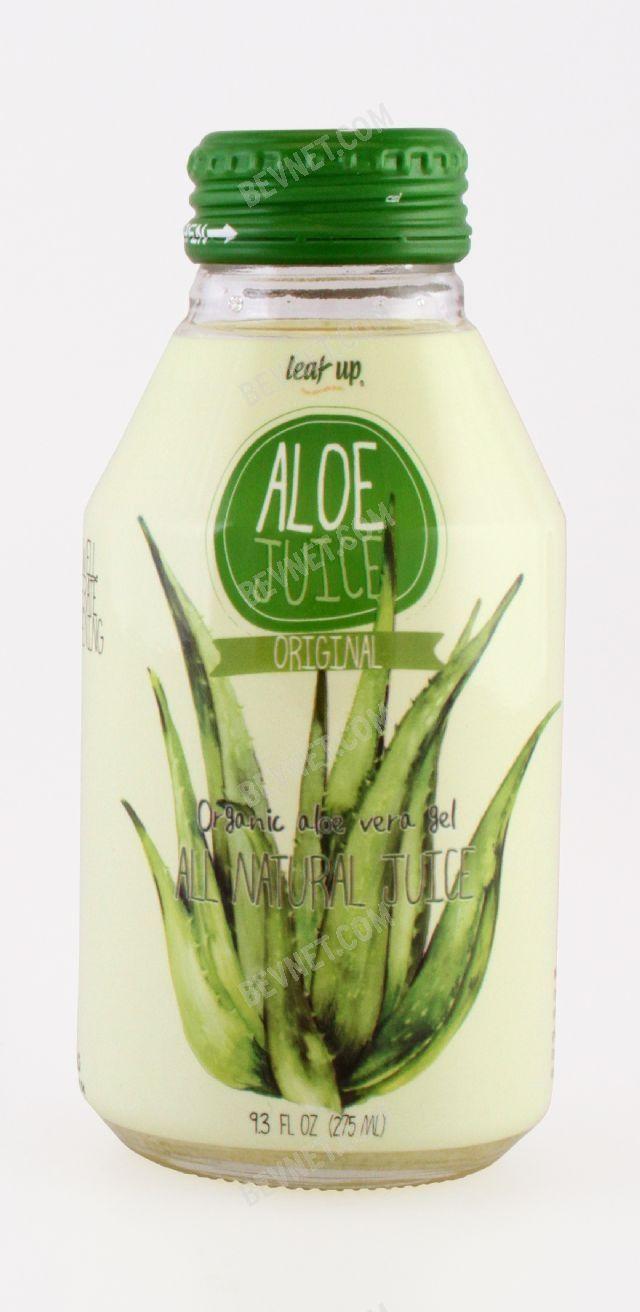 Leaf Up Aloe Juice: