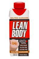 Lean Body: LeanBody-8oz-ProteinShake-SaltedCaramel-Front