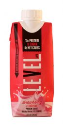 Level Life Protein Shake: Level Strawberry Front
