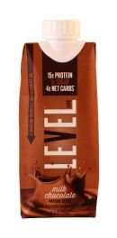 Level Life Protein Shake: Level Chocolate Front