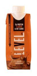 Level Life Protein Shake: Level Caramel Front