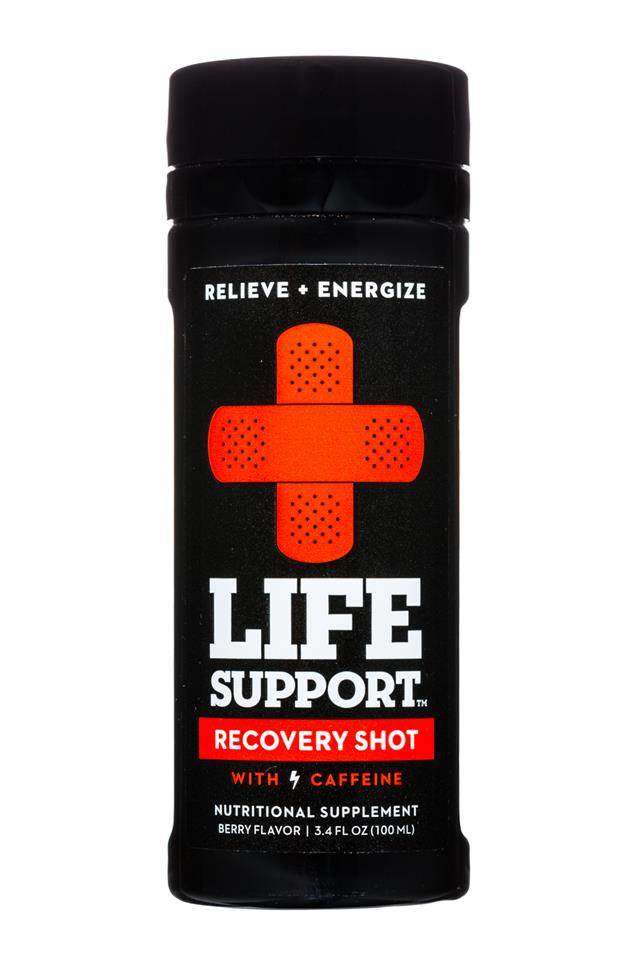 Life Support: LifeSupport-3oz-RecoveryShot-Front