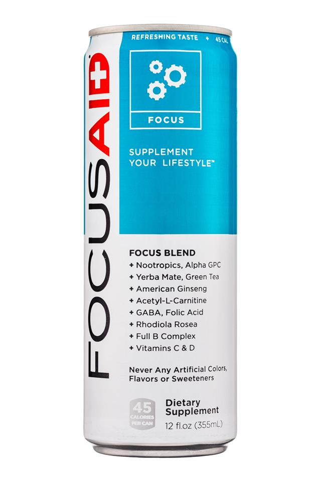 LifeAID: LifeAid-12oz-FocusAid-Focus-Front