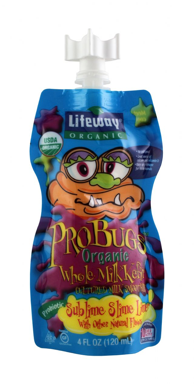 Lifeway Organic: Lifeway SublimeLime Front