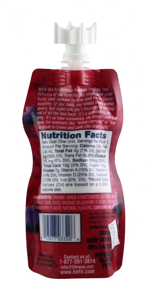 Lifeway Organic: Lifeway GooBerry Facts