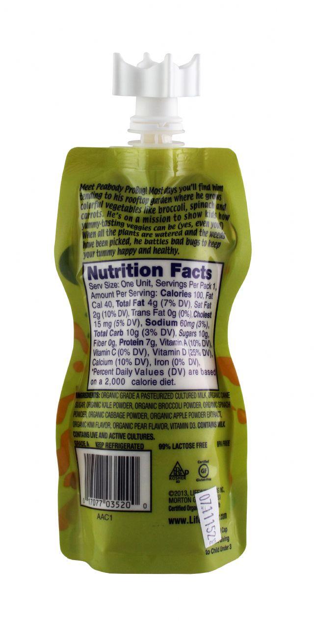 Lifeway Organic: Lifeway KiwiKale Facts