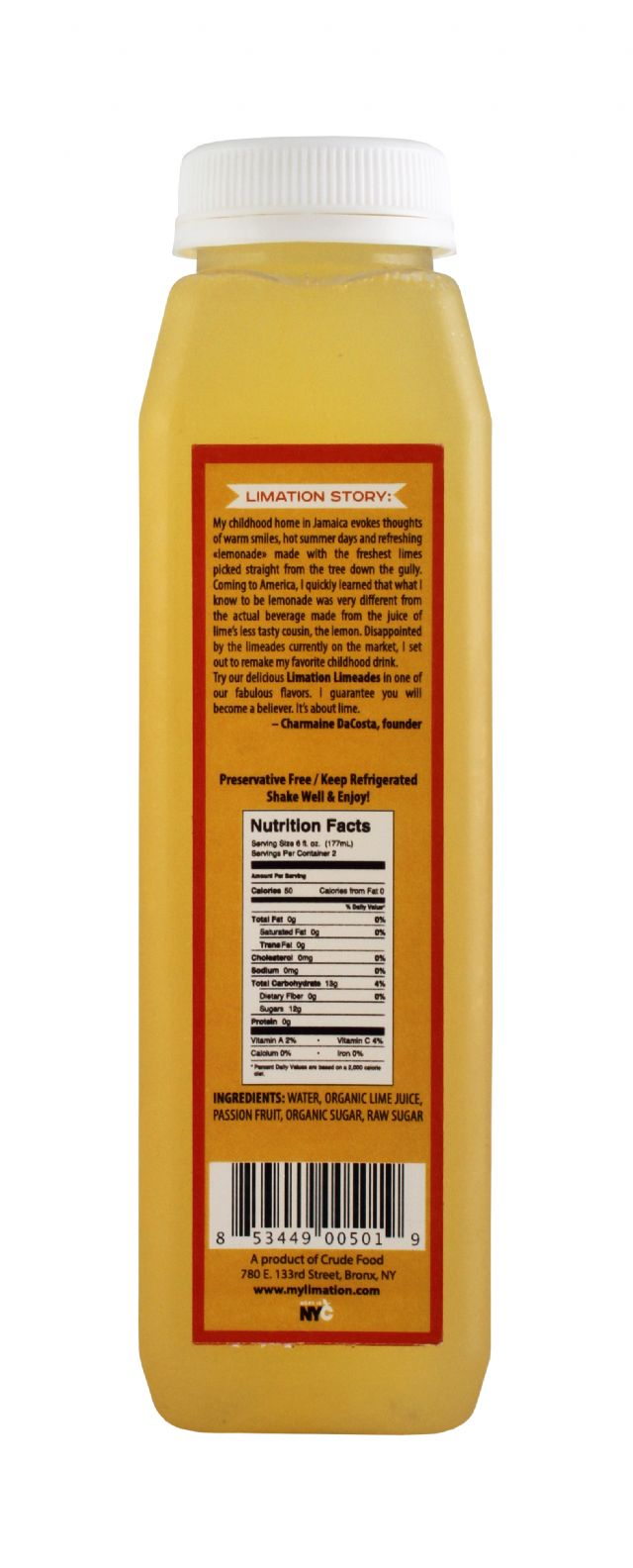 Limation: Limeade PassionFruit Facts