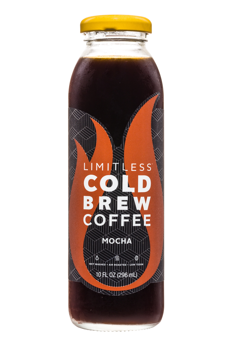 Limitless Cold Brew Coffee: Limitless-ColdBrewCoffee-10oz-Mocha-Front