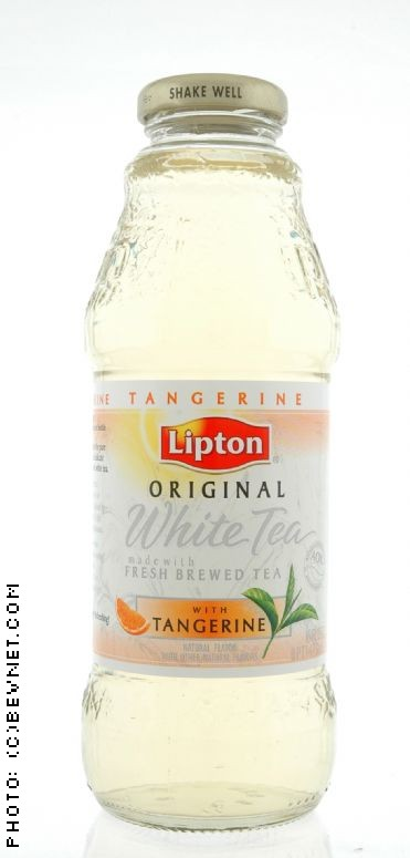 white tea with tangerine lipton original iced teas bevnet com