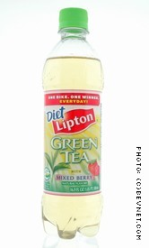 Diet Green Tea with Mixed Berry