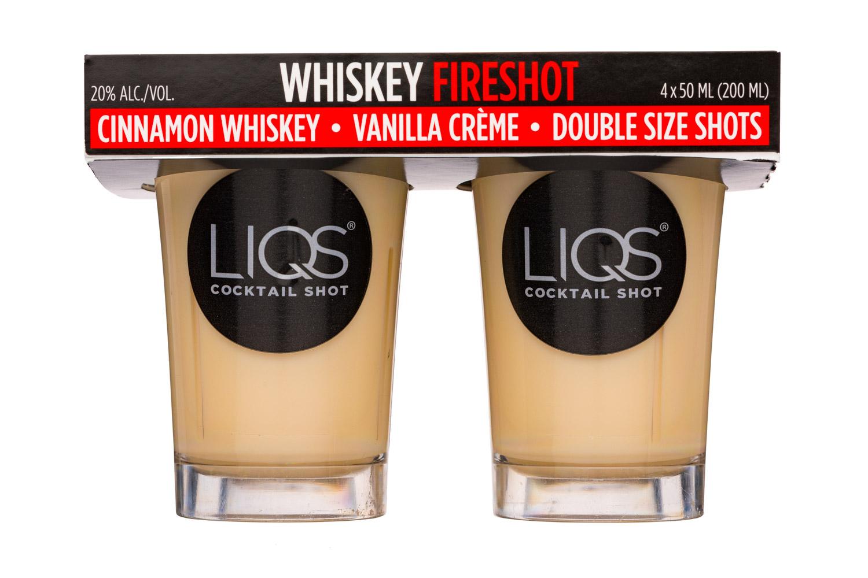 LIQS Cocktail Shot: LIQS-200ml-Shots-WhiskeyFireshot