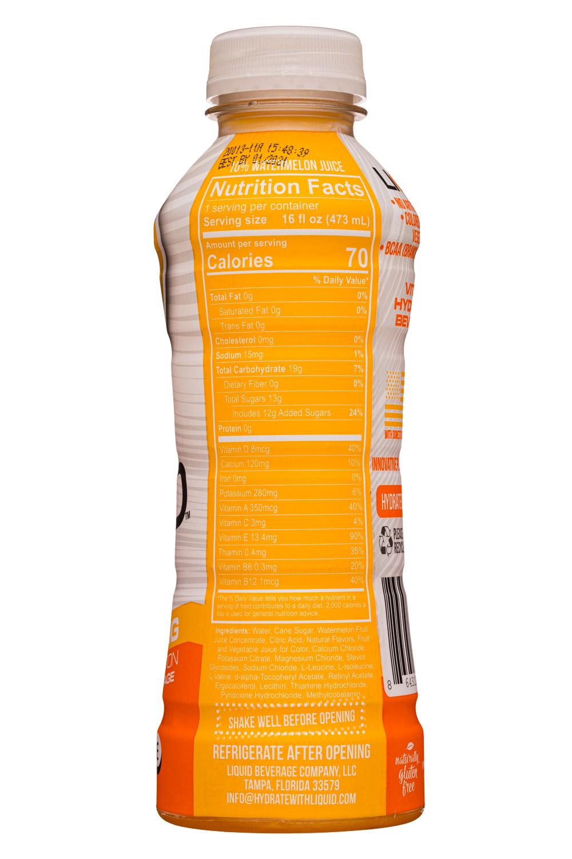 Liquid: LiquidBeverageCo-16oz-2020-OrangeMango-Facts